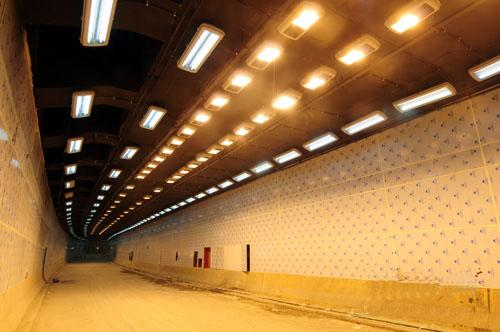南昌青山湖地下隧道