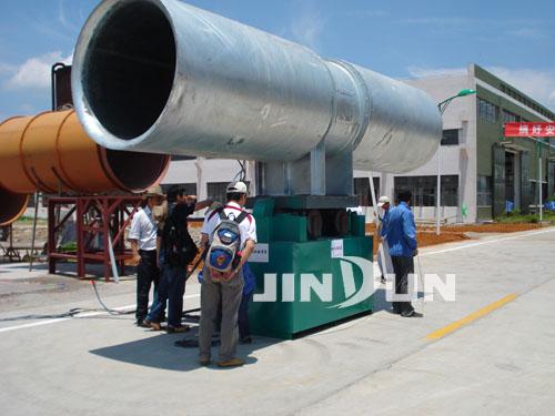 射流风机推力试验装置